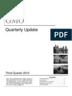 GMO - 3Q 2010 Quarterly Update