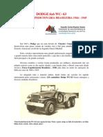 Dodge 6x6 Wc- 63 Da Força Expedicionária Brasileira