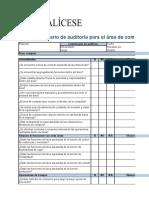 Cuestionario de Auditoria Compras