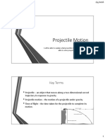 Projection and Motions - Kinematics