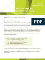 ICT Tools Supporting Collaborative Working