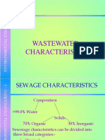Waste Water Chrac.