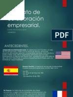 Contrato de Colaboración Empresarial