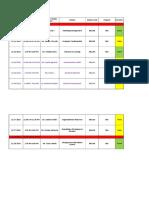 Schedule Week4 Nov 2014 for Students