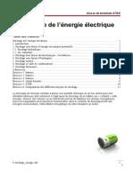 9 Stockage Energie
