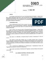 0993-19 CGE Deja Sin Efecto Resol Nº 0915-19 CGE y Autoriza Uso de Instalaciones de Los Establecimientos Educat Para Elecciones Primarias Abiertas y Elecciones Generales (1)