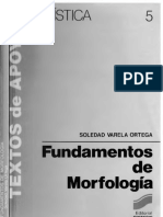 VARELA ORTEGA Soledad - Fundamentos de Morfologia