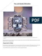 Aquamarine Value, Price, And Jewelry Information - International Gem Society