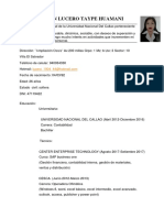 CV Taype Huamani Joselyn Lucero