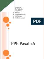 Kelompok 3-Pph Pasal 26