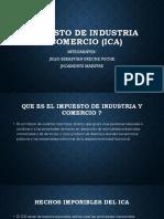 IMPUESTO DE INDUSTRIA Y COMERCIO (ICA).pptx