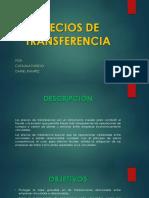 Precios de Transferencia. Present.