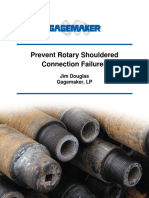 Prevent Rotary Shouldered Connection Failure