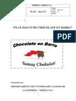 Haccp Chocolate Sumaq