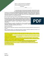 Diagnóstico Lengua y literatura 2019 - 5°