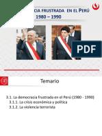 DEMOCRACIA EN EL PERÚ/CAÍDA URSS - Democracia Frustrada