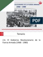 GOBIERNO REVOLUCIONARIO/AMÉRICA LATINA EN GUERRA FRÍA - Gobierno Revolucionario de las FFAA