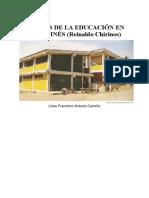 GÉNESIS DE LA EDUCACIÓN EN SANTA INÉS.docx
