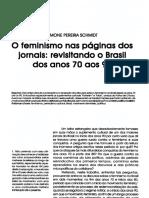 O Feminismo Nas Páginas Dos Jornais