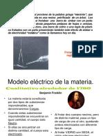Carga y Fuerza Eléctrica - Ley de Coulomb