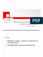 Nuevos Productos y Ciclo de vida del Producto
