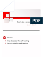 Diseño Del Plan de Marketing