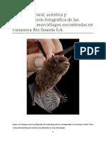 Lista de Especies Murcielagos PRS