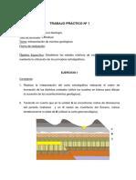 Geología- Trabajo Práctico Nº 1