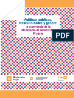Politicas Publicas masculinidades y género