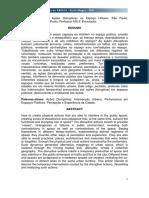 Ações Disruptivas Antonio Araújo