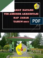 Presentasi Akreditasi Sneker 2017