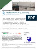 8 PASOS de KOTTER_ Herramienta de Gestión Del Cambio - Arrizabalagauriarte Consulting