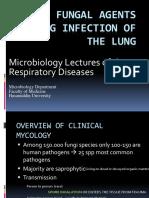 Infeksi Jamur Pada Paru-paru