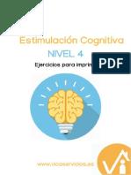 Nivel 4 Estimulación Cognitiva PDF