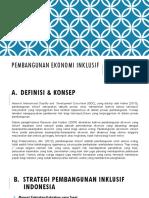 8-Pembangunan Ekonomi Inklusif