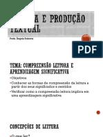 Leitura e Produção Textual - Aula 2