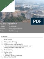 Quarry Department