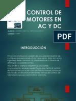 Control de Motores AC y DC