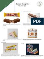 Descripción de dulces internacionales