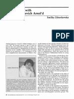 Conversation with Vladimir Igorevich Arnol'd
