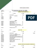Analisis Precios Julcan-uningambal