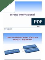 Aula 001 - Direito Internacional