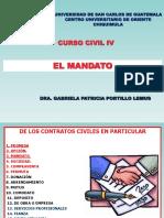 3 CLASE EL MANDATO AGOSTO 2018.ppt