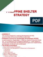 Philippine Shelter Strategy Housing Presentation