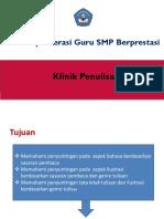 klinik penulisan GTK