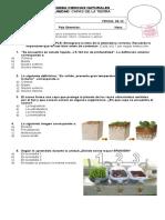 Prueba de Ciencias Naturales Unidad 5 Conceptos Diccionario Ultimo