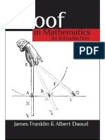 Proof in Mathematics_ an Introd - Albert Daoud
