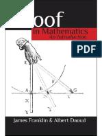 Proof in Mathematics_ an Introd - Albert Daoud