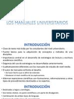 Los Manuales Universitarios