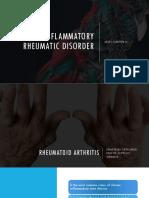 Chapter 3. Inflammatory Rheumatic Disorder